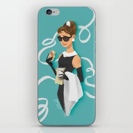 Holly Golightly iPhone Skin