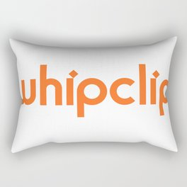white logo Rectangular Pillow