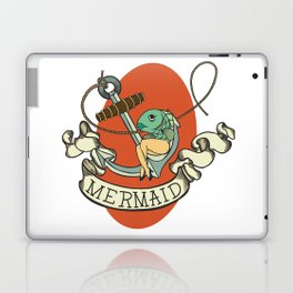 Reverse Mermaid Laptop & iPad Skin