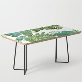 A Pattern of Plants Coffee Table