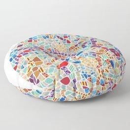 Spain – Barcelona Floor Pillow