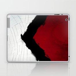 BLOOD RED RIBBON Laptop & iPad Skin