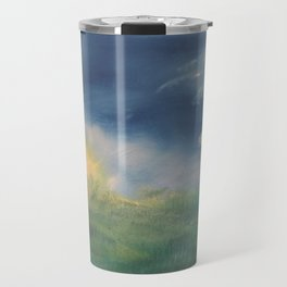 SunnySide Up - Abstract Nature Travel Mug