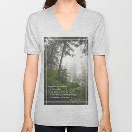 Perennial and Constant Unisex V-Neck