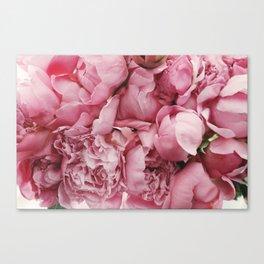 Pink Floral Canvas Print