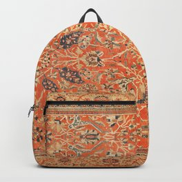Antique Persian Sultanabad Rug Print Backpack