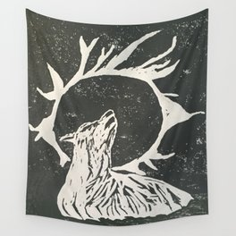 shadow wolf Wall Tapestry