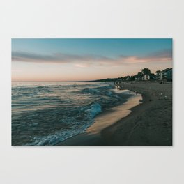 Sunset in South Haven Canvas Print
