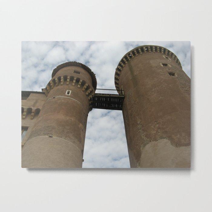 bracciano castle Metal Print