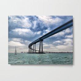 Coronado Bridge Metal Print
