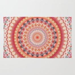 Oriental Sun Mandala Rug