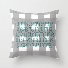 Avett Throw Pillow