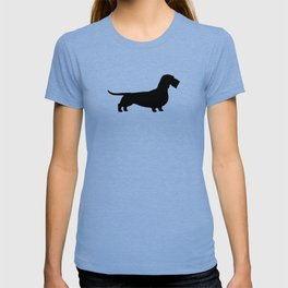 Wirehaired Dachshund Silhouette T-shirt