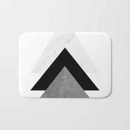 Arrows Monochrome Collage Bath Mat
