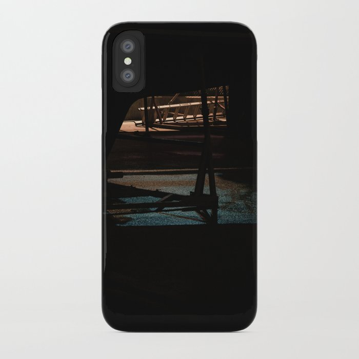 Night bow iPhone Case