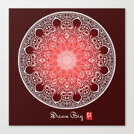 Mandala - Dream Big Canvas Print
