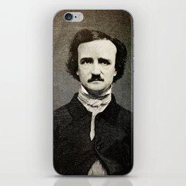 Edgar Allan Poe Engraving iPhone Skin