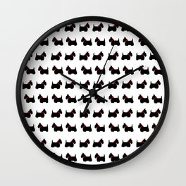 Scotty Dog Wall Clock