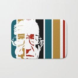 Noam Chomsky Retro Homage Bath Mat