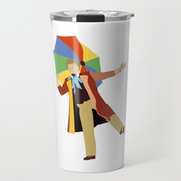 Sixth Doctor: Colin Baker Travel Mug