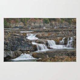 Kootenai Falls Rug