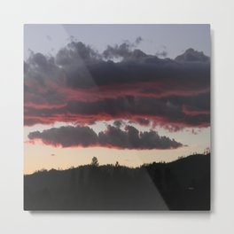 The end of another glorious day.... Metal Print