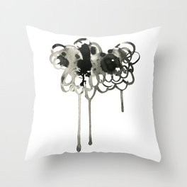 Thought Cloud Throw Pillow