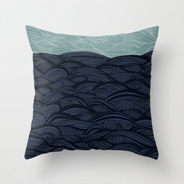 La Mer - Debussy Throw Pillow