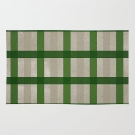 Evergreen Cozy Cabin Plaid Rug
