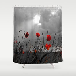 Only poppies... Shower Curtain