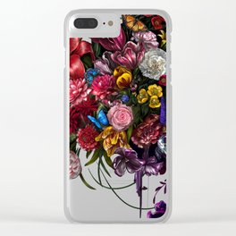 paradise.corrupt_ v0.2 Clear iPhone Case