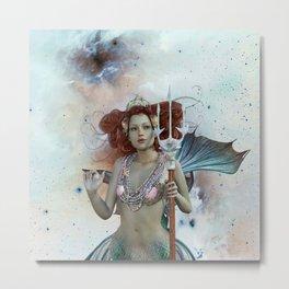 Space Siren: Mermaids of the Sky Metal Print