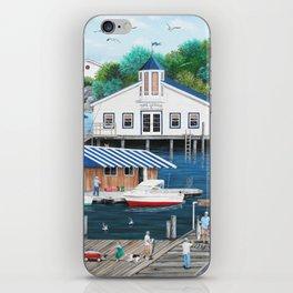 Laughing Gulls Landing iPhone Skin