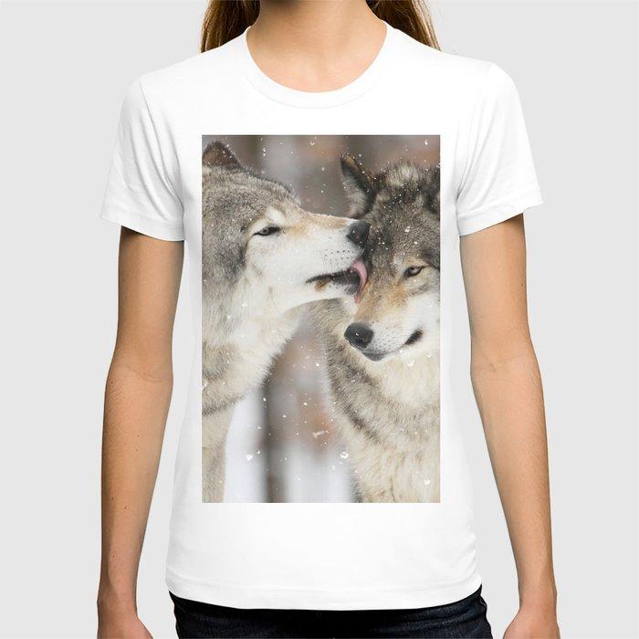 Wolf Kisses T-shirt