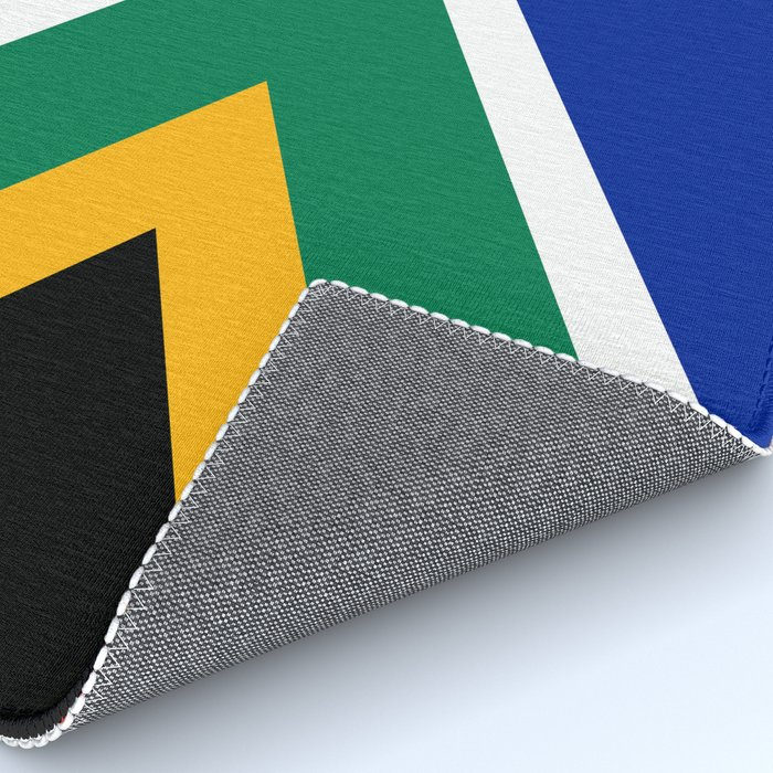 South African flag - high quality image Rug