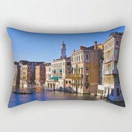 The Grand Canal Rectangular Pillow