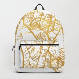 MANILA PHILIPPINES CITY STREET MAP ART Backpack