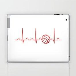 VOLLEYBALL HEARTBEAT Laptop & iPad Skin