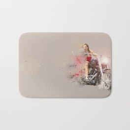 RED RIDER Bath Mat