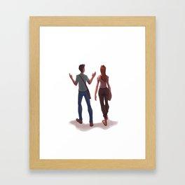 a casa Framed Art Print
