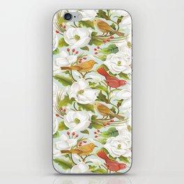 Magnolia/ Birds iPhone Skin