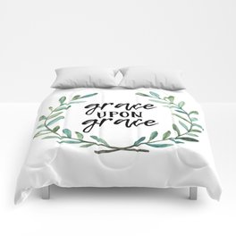 Grace Upon Grace Comforters