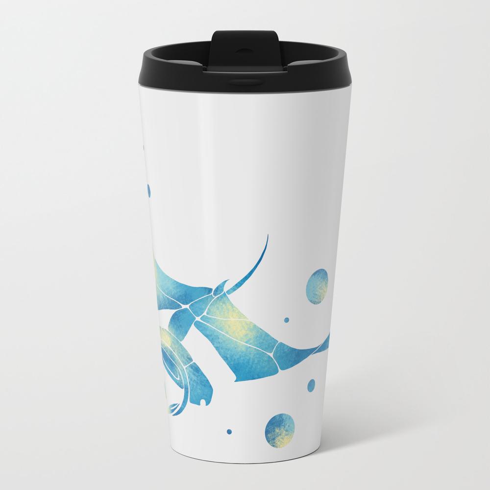 Blue Manta Ray Travel Mug TRM9091120