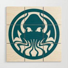 Myths & monsters: Cthulhu Wood Wall Art
