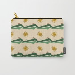 Bikes Pattern Carry-All Pouch