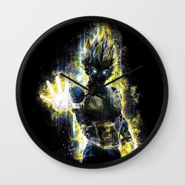 The Prince of all fighters Wall Clock