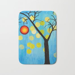Modern Tree Bath Mat
