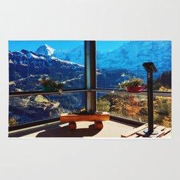 Swiss Alps Looking Glass Rug