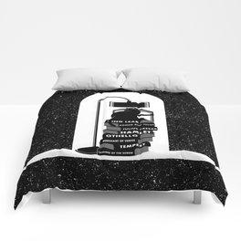 CAT READING SHAKESPEARE Comforters