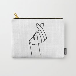 Love Finger Snap Carry-All Pouch